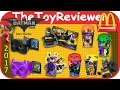 2017 LEGO Batman Movie McDonalds Happy Meal COMPLETE SET 8 Unboxing Toy Review by TheToyReviewer