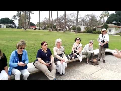 What is the kibbutz? Explanation of Arieh in Kibbutz Sde Eliyahu, Israel