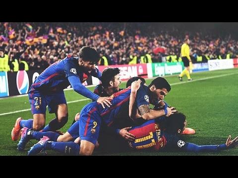أهداف مباراة برشلونة 6-1 باريس سان جيرمان تعليق عصام الشوالي