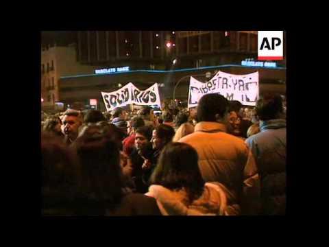 SPAIN: MADRID: ONE MILLION PEOPLE PROTEST AGAINST ETA