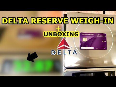 New DELTA RESERVE Unboxing Part 2 | Weigh-In