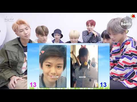 BTS REACTION NEW | Third Kamikaze Vs BTS Tae Hyung V II Transformation From 1 To 23 Years Old