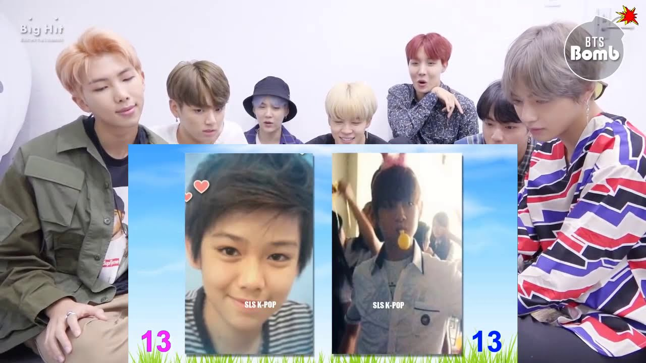 Download BTS REACTION NEW   Third Kamikaze Vs BTS Tae hyung V II Transformation From 1 To 23 Years Old