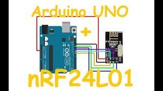Подключение и настройка nRF24L01 к Arduino модуль беспроводной связи #nRF24L01