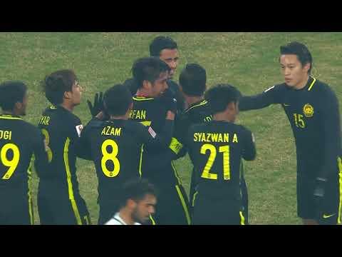 Malaysia take the lead against Saudi Arabia through Daniel Amier!