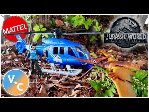 Jurassic World Destruct-A-Saurs Pteranodon Copter Attack Set Review (Walmart Exclusive)