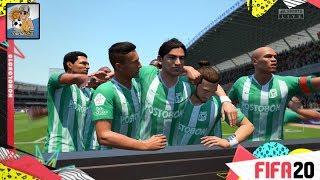 FIFA 20 Gameplay Atletico Nacional vs America de Cali (Colombia)