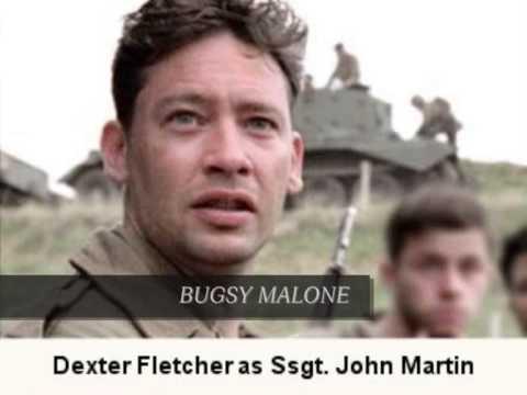 Dexter Fletcher Ssgt. John Martin  2 of 6: BAND OF BROTHERS CAST S 201011