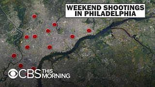 Philadelphia graduation shooting among 16 incidents of gun violence over weekend