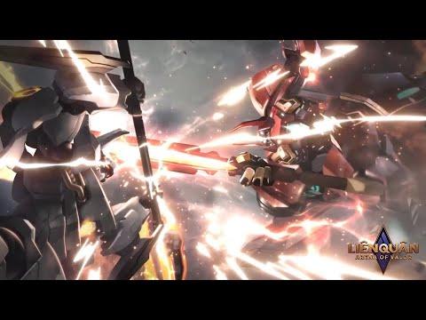 [Vietsub Cốt Truyện] Lữ Bố Chiến Binh Robot VS Maloch Đại Tướng Robot - Phim Liên Quân