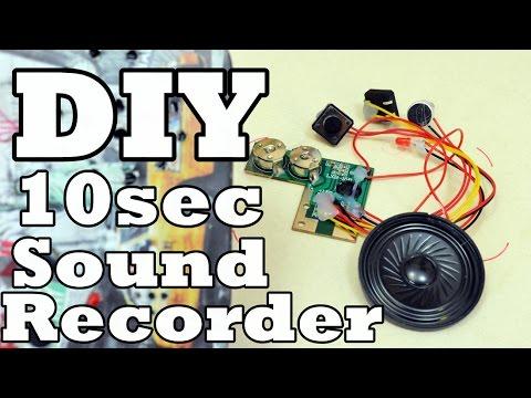 DIY 10sec Sound recorder
