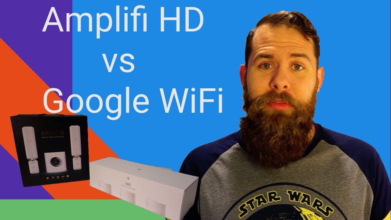 Head-to-head router comparison - Google WiFi vs Amplifi HD