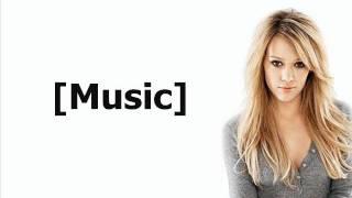 Hilary Duff - Mr. James Dean (Lyrics On Screen)