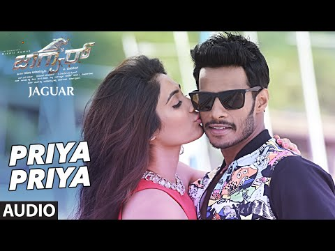 Priya Priya Full Song(Audio)    Jaguar    Nikhil Kumar, Deepti Saati    SS Thaman    Kannada Songs