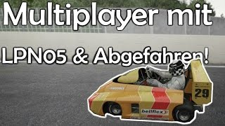 NORDSCHLEIFE mit KARTS?! Selbstmord! LPN05 & Abgefahren - Project Cars MP!
