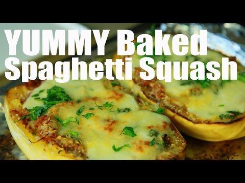 Spaghetti Squash Boats | The Kitchen Bae