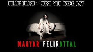 Billie Eilish - wish you were gay | MAGYARUL Video