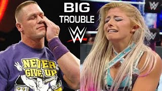 10 Current WWE Wrestlers in Big Trouble Backstage - John Cena, Alexa Bliss & more