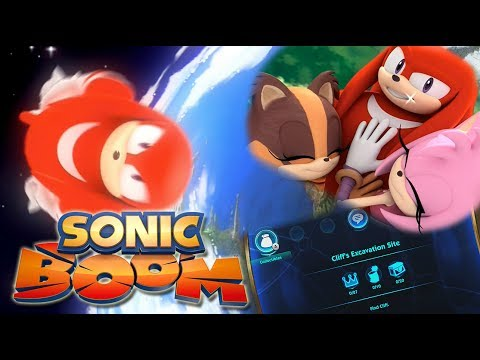 Knuckles Jump Glitch Is Canon - Sonic Boom