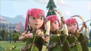 Clash of Clans Vs. Clash Royale -Short Animated Movie For All COC Fans || Must Watch