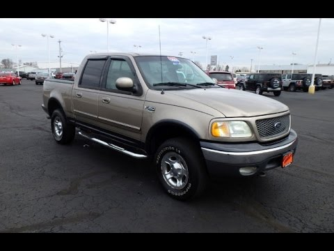 2001 Ford F 150 Supercrew Cab >> 2001 Ford F 150 Lariat Supercrew Cab For Sale Dayton Troy Piqua Sidney Ohio Cp14400at