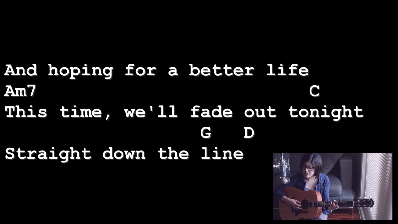 The A Team Ed Sheeran Lyrics And Chords Guitar Tutorial Youtube