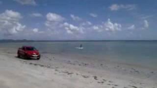 KiteSurf sem Vento ! VW Saveiro + Prancha Cabrinha ! (parte01)