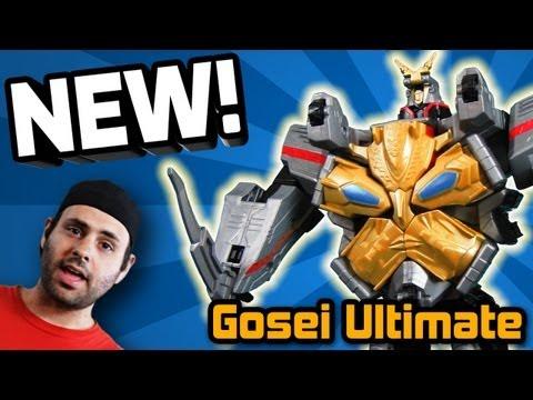 GOSEI ULTIMATE REVIEW! Power Rangers Megaforce Bandai America (Sept 2013)
