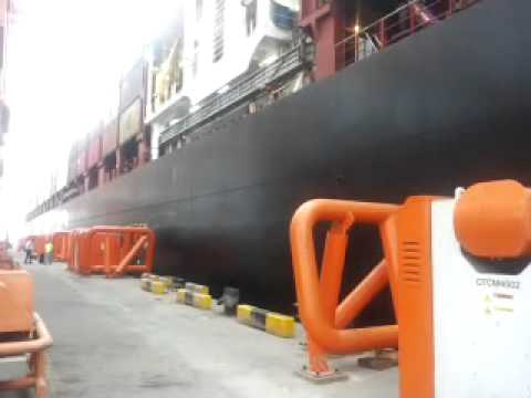 Cavotec system working in Salalah port