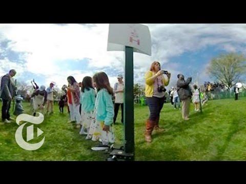 White House Easter Egg Roll   360 VR Video   The New York Times