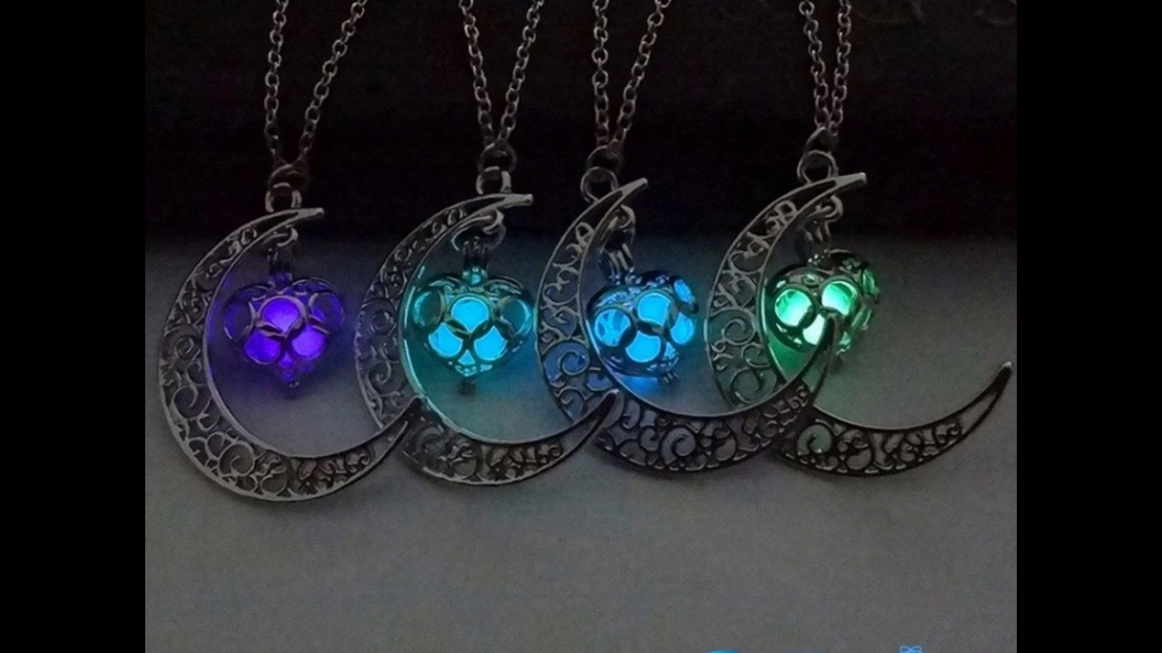 watch buy for youtube the necklace get dark glow free moon in