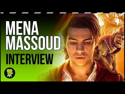 How has Aladdin changed since the 90s according to Mena Massoud
