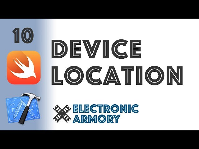 GPS Device Location - iOS Development in Swift 4 - 10