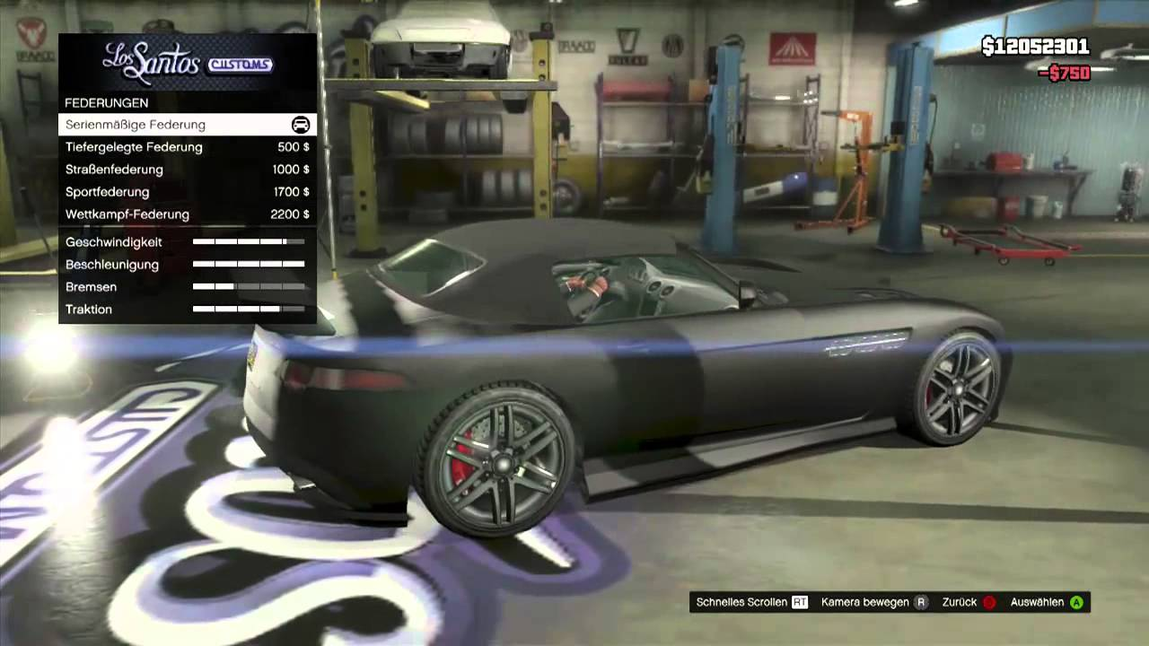 Gta 5 Tuning Session 8 Benefactor Surano Mercedes Benz Sls Amg Roadster Youtube