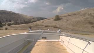 Peterbilt 379 hauling grain