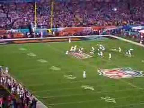 Super Bowl Opening Kickoff Return