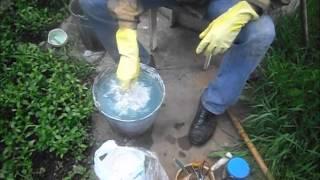 приготовление бордоской смеси и её применение
