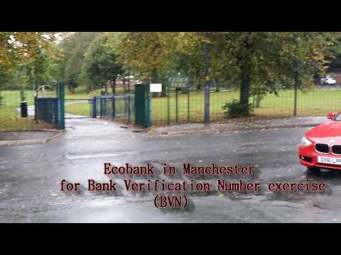 Ecobank Bank Verification Number (BVN) in Manchester
