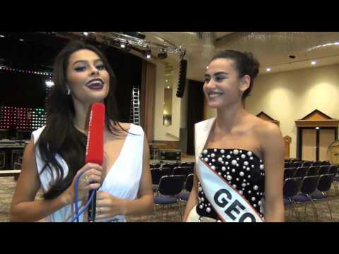 Miss Intercontinental 2015 - Miss Georgia Interview