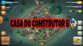 CLASH OF CLANS Casa do construtor nivel 6 😱?
