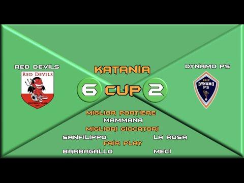 Katania Cup over 40   Red Devils 6:2 Dynamo P.S.   Giornata 10