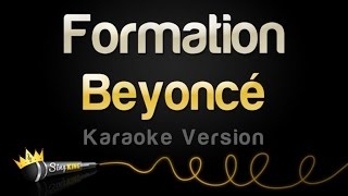 beyoncé formation karaoke version