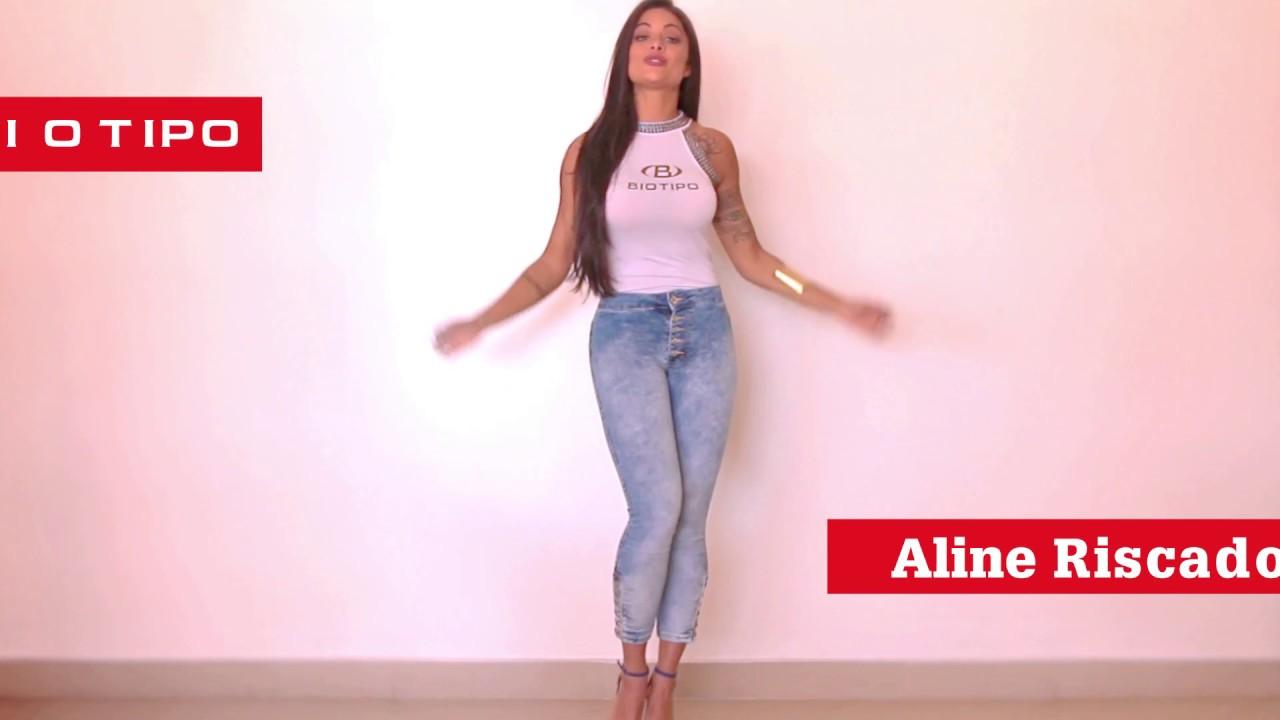 896cdb345 Aline Riscado apresenta: Biotipo Jeans - YouTube