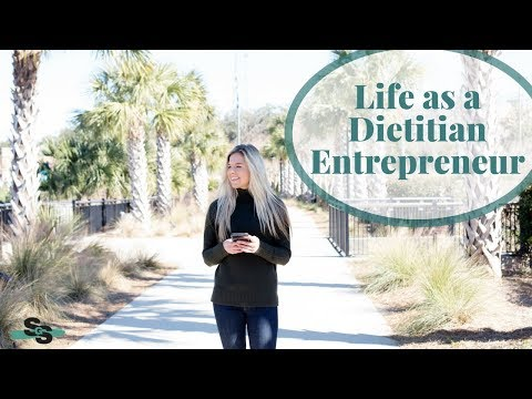 LIFE AS A DIETITIAN ENTREPRENEUR