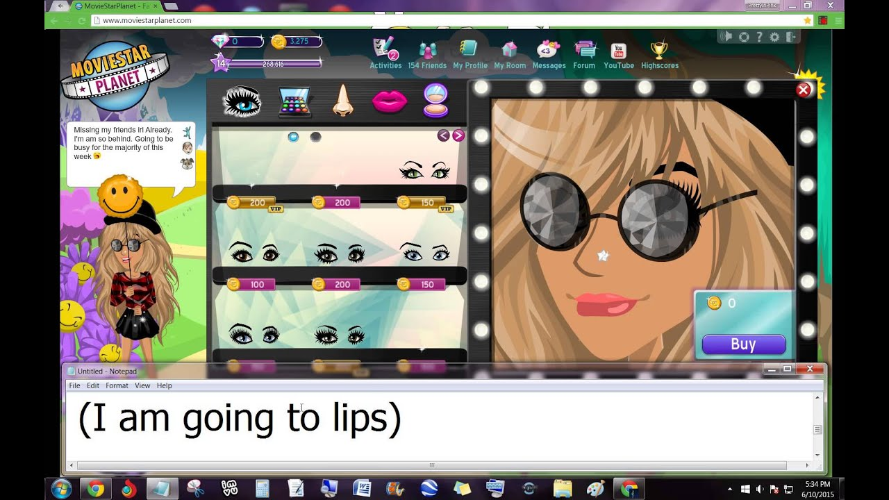 How to get Free VIP Makeup on MSP