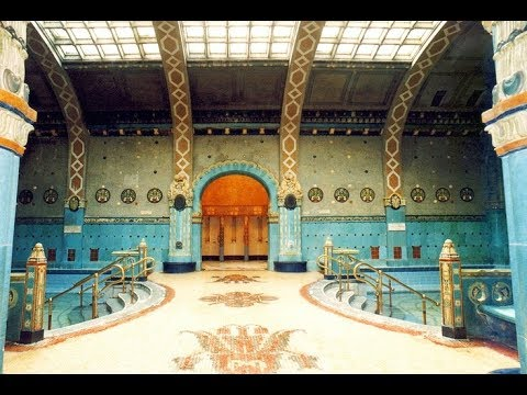 Gellert Bath Tour - Budapest Hungary