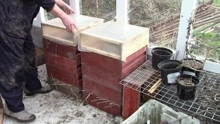 Recycling Old Beehives As Hot Bed Plant Propagators