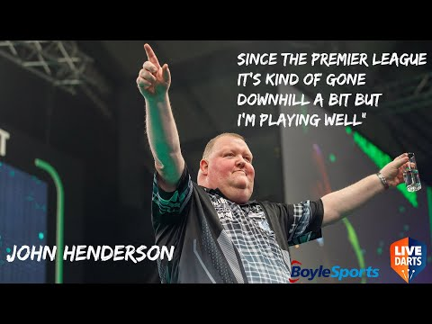 "John Henderson: ""Since the Premier League it's kind of gone downhill a bit but I'm playing well"""