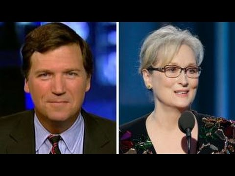 Thumbnail: Tucker Carlson responds to Meryl Streep: 'She's no outsider'