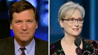 Tucker Carlson responds to Meryl Streep 'She's no outsider'